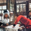 An Interesting Story women canvas art print by Tissot