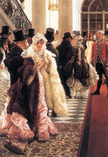 The Fashionable Woman canvas art print by Tissot
