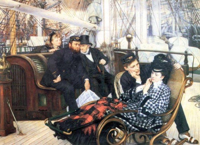 The Last Evening canvas art print by Tissot