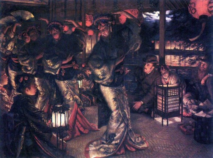 The Prodigal Son in Modern Life - In Foreign Countries canvas art print by Tissot