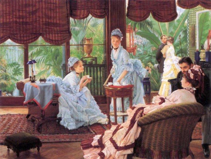 Unrivaled women canvas art print by Tissot