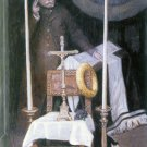Wall Portrait of a Driver religious canvas art print by Tissot