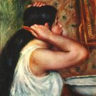 Woman with Hair Combs canvas art print by Pierre-Auguste Renoir