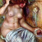 Woman at the Well canvas art print by Pierre-Auguste Renoir