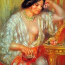Gabrielle woman canvas art print by Pierre-Auguste Renoir