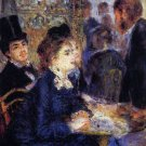 In the Cafe women men people canvas art print by Pierre-Auguste Renoir