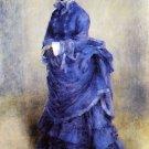 The Parisian Woman portrait canvas art print by Pierre-Auguste Renoir