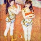 The circus Fernando girls canvas art print by Pierre-Auguste Renoir