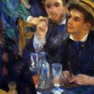 The Ball in the Moulin de la Galette Detail men canvas art print by Pierre-Auguste Renoir