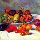 Still Life Tropical Fruits canvas art print by Pierre-Auguste Renoir