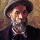 Self Portrait I man canvas art print by Pierre-Auguste Renoir