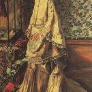 Portrait of Rapha 1871 woman canvas art print by Pierre-Auguste Renoir