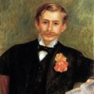 Portrait of Monsieur Germain 1900 man canvas art print by Pierre-Auguste Renoir