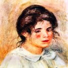 Portrait of Gabrielle 1906 woman canvas art print by Pierre-Auguste Renoir