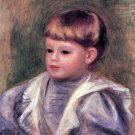 Philippe Gangnat 1906 Portrait of a Child boy canvas art print by Pierre-Auguste Renoir