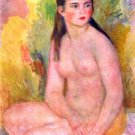 Woman female canvas art print by Pierre-Auguste Renoir