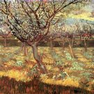 Apricot Trees in Blossom II landscape canvas art print by Vincent van Gogh