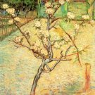 Blossoming Pear Tree landscape canvas art print by Vincent van Gogh