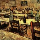 Interior of a Restaurant in Arles canvas art print by Vincent van Gogh