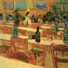 Interior of the Restaurant Carrel in Arles canvas art print by Vincent van Gogh