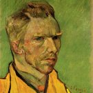 Artist Self-portrait man canvas art print by Vincent van Gogh