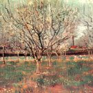 Orchard in Blossom Plum Trees landscape canvas art print by Vincent van Gogh