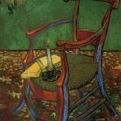 Paul Gauguins Armchair canvas art print by Vincent van Gogh