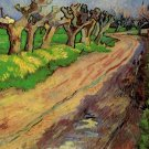 Pollard Willows landscape canvas art print by Vincent van Gogh