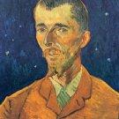 Portrait of Eugene Boch man canvas art print by Vincent van Gogh