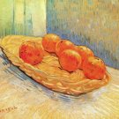 Still Life with Basket and Oranges canvas art print Vincent van Gogh
