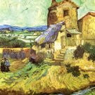 The Old Mill landscape canvas art print by Vincent van Gogh