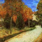 The Public Park at Arles landscape canvas art print by Vincent van Gogh