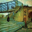 The Trinquetaille Bridge canvas art print by Vincent van Gogh