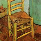 Vincent's Chair with His Pipe canvas art print by Vincent van Gogh