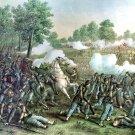 Wilson Creek Oak Hill battle Civil War canvas art print Kurz & Allison