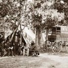 Wagon of the New York Herald Civil War canvas art print by O'Sullivan
