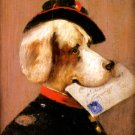 Comical Dog II canvas fine art print by Cirans