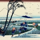 Ejiri in Suruga Province Japanese canvas art print Katsushika Hokusai