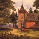 St. Peter's Church New Kent VA Civil War canvas art print by McIlvaine