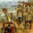 General Robert E Lee Fredericksburg Civil War canvas art print Ogden