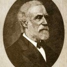 Vintage Robert E. Lee portrait Confederate Civil War canvas art print