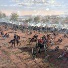 Gettysburg Battle Meade and Lee Civil War canvas art print by Prang