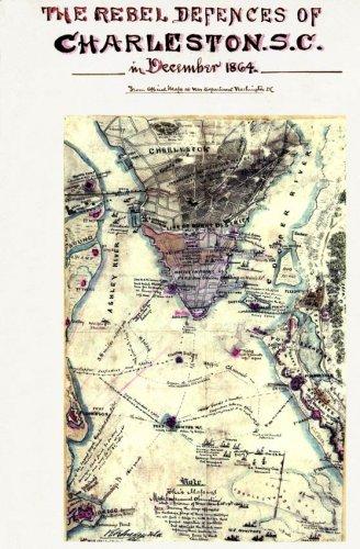 Rebel Defenses Charleston South Carolina 1864 Civil War
