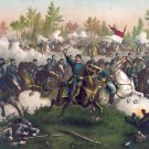 Cedar Creek Battle Sheridan Civil War canvas art print Kurz & Allison