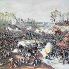 Shiloh Battle Pittsburg Land. Civil War canvas art print Kurz Allison