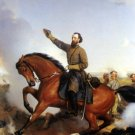 Thomas Stonewall Jackson Winchester Battle Civil War canvas art print Guillaume