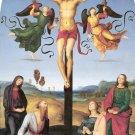 Crucifixion Mond Gavari Jesus Mary Magdalena canvas art print Raphael