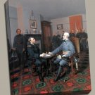 Lee Surrenders Grant Civil War Gallery Wrap canvas art print Guillaume