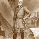 Portrait of General Robert E. Lee Confederate Civil War canvas art print McRae