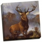 Deer Stag canvas Gallery Wrap Monarch of the Glen Art Print Landseer